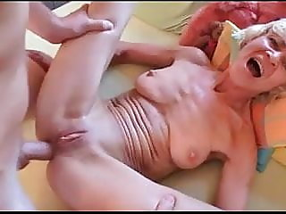 anal,old &,granny
